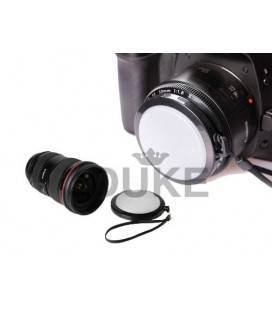 PHOTTIX TAPA BALANCE DE BLANCO 52 - 55 - 58 - 62 - 67 - 72 - 77 MM.