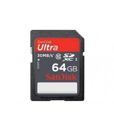 SANDISK SDHC ULTRA 64 GB SD 30MBS/200X