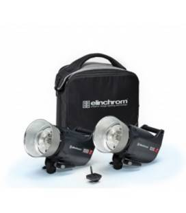 ELINCHROM SET 2 FLASH COMPACTO ELC PRO HD 1000/1000