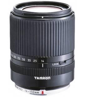 TAMRON OBJETIVO AF 14-150 mm F:3.5-5.8 Di III MICRO CUATRO TERCIOS (52mm) (PANASONIC Y OLYMPUS) NEGRO