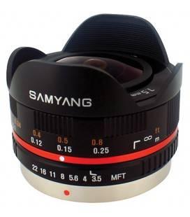 SAMYANG 7.5MM F3.5 UMC OJO DE PEZ MICRO 4/3