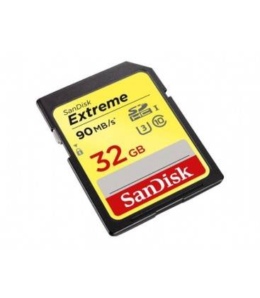 SANDISK EXTREME SDHC CARD 32GB 90MB/S