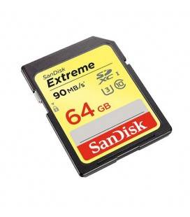 SANDISK EXTREME SDHC CARD 64GB 90MB/S