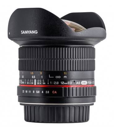 SAMYANG 12mm f2.8 ED AS NCS -OJO DE PEZ (NIKON)