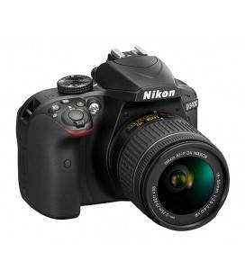 NIKON D3400 + AF-P 18-55 mm f / 3,5-5,6 VR (CAJA DOBLE KIT)