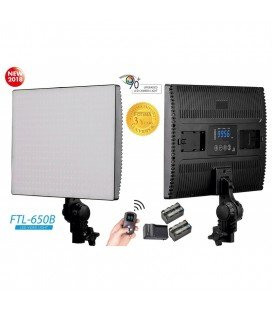 FOTIMA PANEL LED BICOLOR 650B + 2 BATERIAS + CARGADOR