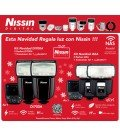 NISSIN KIT2 I60 FUJI 2FLASHES + TRANSMISOR AIR 1