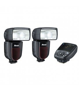 NISSIN KIT 2 DI700A CANON 2FLASHES + TRANSMISOR AIR 1