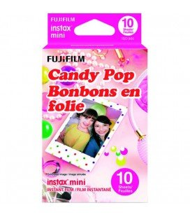 FUJIFILM INSTAX MINI CANDY POP - 10 INSTANTANEAS