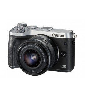 CANON EOS M6 KIT + EF-M 15-45mm F3.5-6.3 IS STM - PLATA
