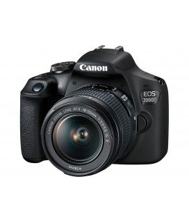 CANON EOS 2000D + 18-55MM F3.5-5.6 IS II KIT + CURSO INICIACION DE 4 HORAS