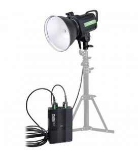 PHOTTIX FLASH INDRA 500 TTL KIT ETUDIO CON BATERIA