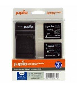 JUPIO 2 BATERIAS DMW-BLG10 + CARGADOR USB (CPA1005)