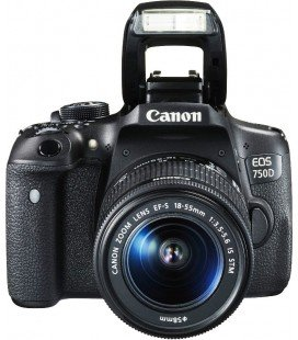 CANON EOS 750D + EF-S 18-55 IS STM
