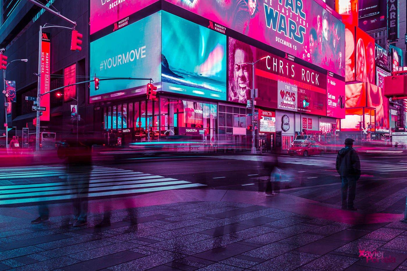 duke fotografia, xavier portela, nueva york, glow, new york, blog fotografia,