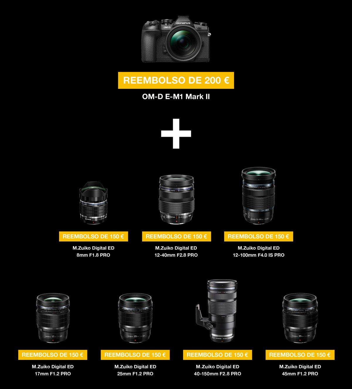 Olympus Duke Fotografa Mzuiko Digital Ed 14 150mm F40 56 Del 1 De Septiembre 2018 Al 15 Enero 2019 Cashback 200 Por La Compra E M1 Mark Ii 150 En Cada Ptica