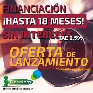 FINANCIACION 18 MESES SIN INTERESES